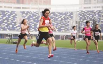 河北省第十五届运动会田径女子组预赛开赛