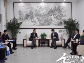 运城市科技局局长潘俊武督导科技创新工作