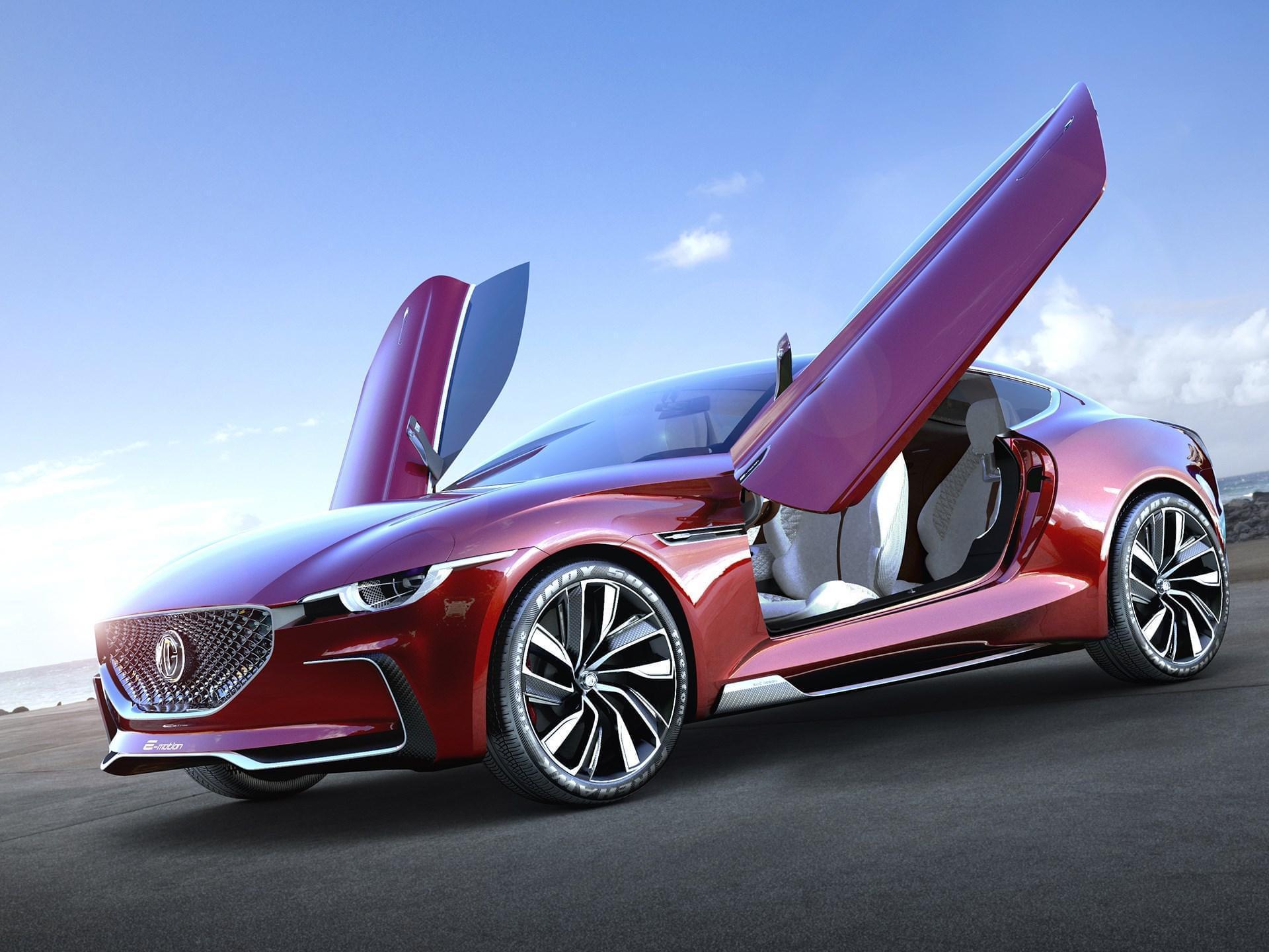 上海车展发布的E-motion概念车