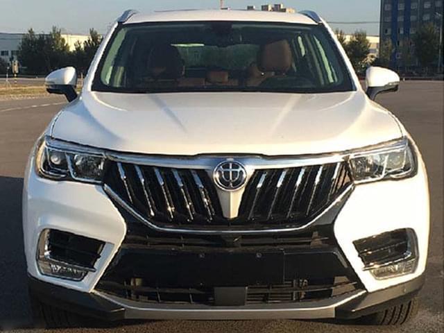 源自宝马技术 华晨V7中型SUV将于3月上市