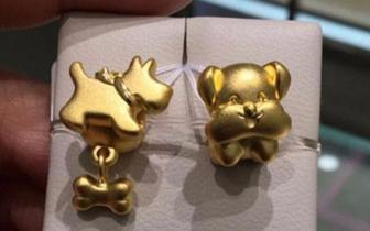 春节临近 狗元素黄金珠宝饰品销售量不断攀升