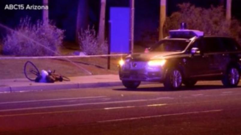 Uber无人车驾驶车撞死行人究竟孰是孰非