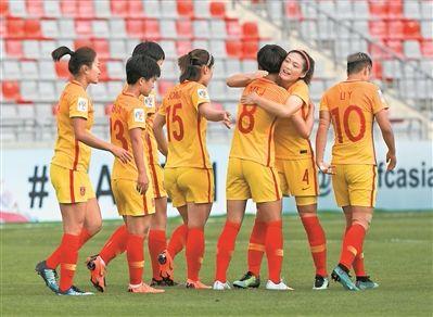 中国还有女足,法兰西我们来了!