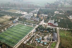 探访成都足球第1村 1年办比赛248场