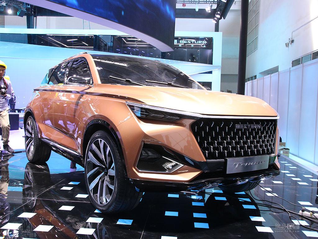 将于年内量产上市 奔腾T77概念车展前亮相