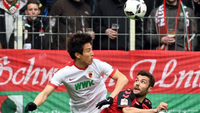 德甲-韩国国脚具滋哲赛季首球 奥格斯堡1-0汉堡