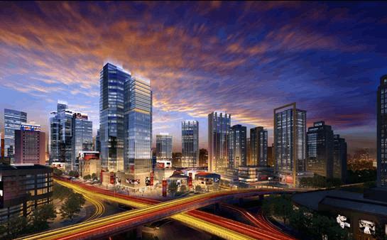 5A甲级龙湖核心资产 新壹街诠释商务新标准
