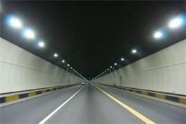 幸福北路下穿金沙湖隧道工程 进入装修阶段