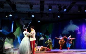 国家大剧院原创儿童歌剧《白雪公主》亮相(图)