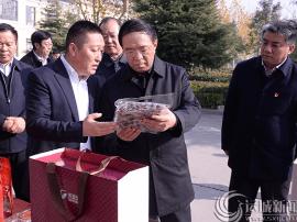 运城市委书记刘志宏调研芮城县经济转型发展情况