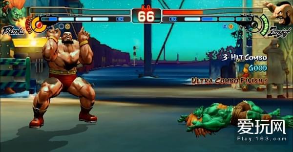 《街头霸王4:冠军版》新画面公布