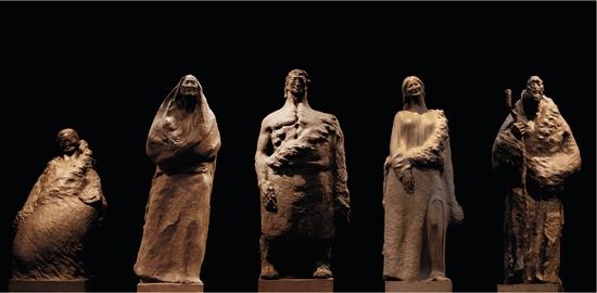 """为人民雕像 为民族塑魂——""""首届全国雕塑艺术大展"""""""