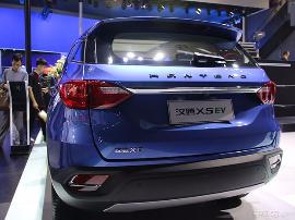 2017上海车展:2017广州车展邦解读 纯电动SUV汉腾X5 EV