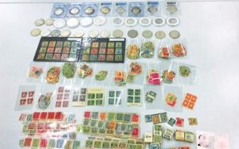 澳门男子携2180枚邮票、银元等藏品过关竟全是文物