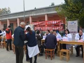 灵中医暖心义诊:重阳节 豫灵堡里送健康