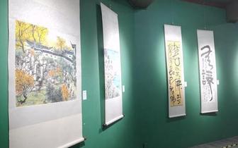台湾中华艺风书画会海南画展开展