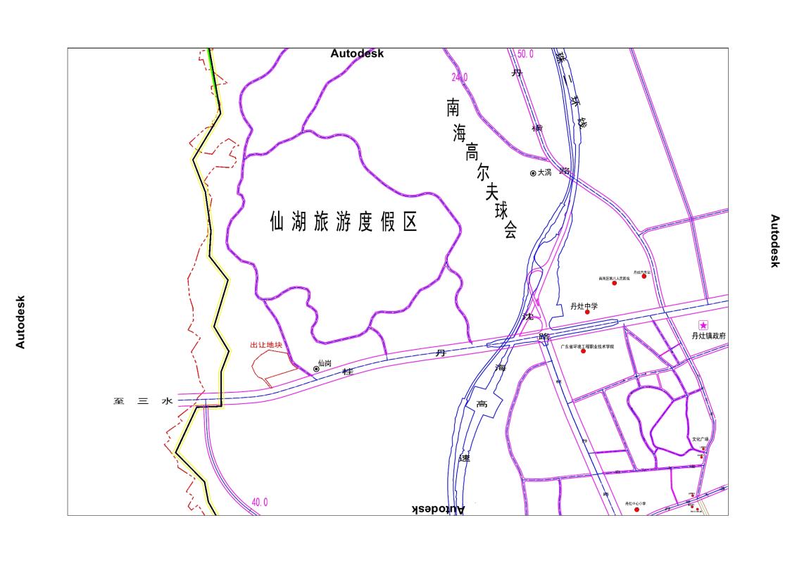 丹灶仙湖旁7.7万㎡商住用地以119660万元被竞得