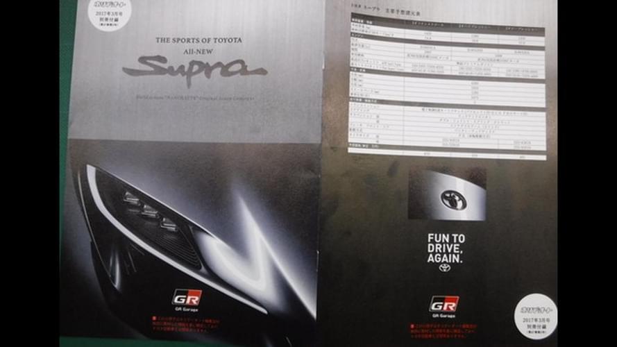20年等待即将结束 丰田Supra细节图曝光