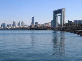 号称中国最干净的城市 大街上几乎没有垃圾桶