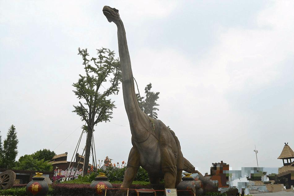 【内蒙古之最】中国发现的最大的恐龙化石骨架