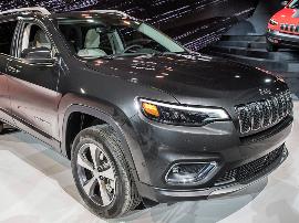 回归大众审美 北美车展实拍Jeep新款自由光