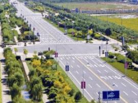 改善交通环境便民出行 万柏林区改造13条道路