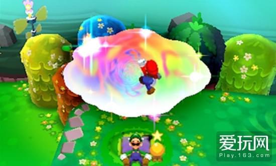 瑰丽的色彩和多样化的游戏内容