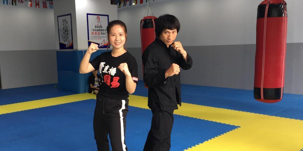 """""""南宁李小龙""""霸气开播 教你截拳道一招制敌的招式"""