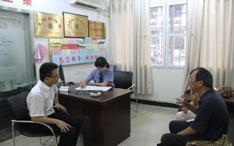 通城司法局联合检察院推进律师参与信访接待工作