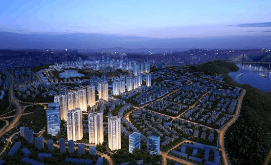 龙湖两江新宸极景高层【森屿】全新面世致敬一座城市的