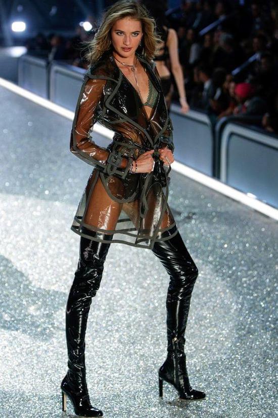 全球最美仙女超模Sanne:第三次上维密仍紧张