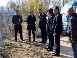 运城市水务局验收芮城县2016年高效节水项目