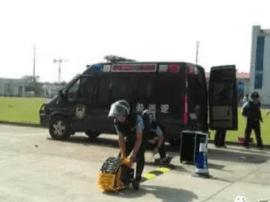 南宁公安及交通运输部门开展演练 为两会保驾护航