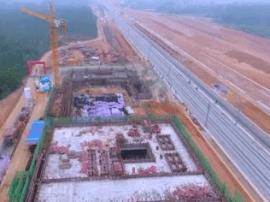 关注!深茂铁路阳东站主体结构完成50%