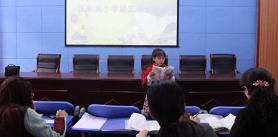国际城小学开展学生课文朗读大赛活动