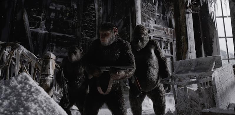 《猩球崛起3》曝新预告 人猿正式开打
