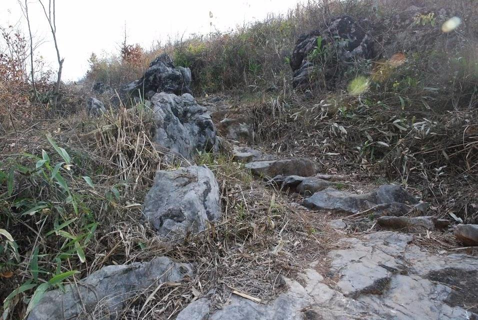 咸崇旅游公路上一座被人遗忘的古——皇阁仙寺
