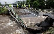 法国塔希提岛强降雨引洪涝