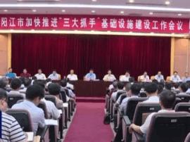 """市政府召开会议:加快""""三大抓手""""基础设施建设"""