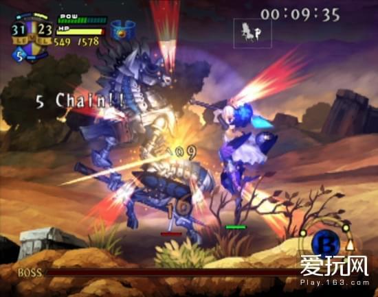 PS2版人物在画面上的比例相当大