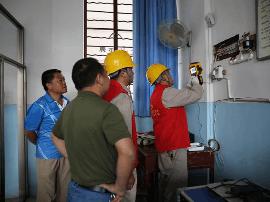 """太原供电公司对高考点电力设备展开""""地毯式""""巡查"""