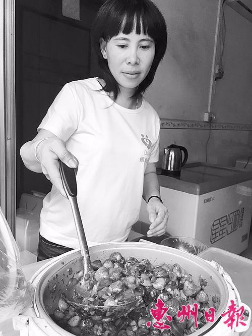 你还记得这个传统美食吗?博罗传统咸蚬香飘几百年
