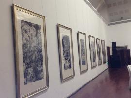 运城市委书记刘志宏参观工艺美术产品展览交易会