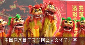 直播:2017中国保定首届互联网公益文化节