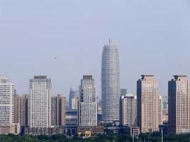 郑东新区亿元楼宇 一栋楼堪比一个开发区