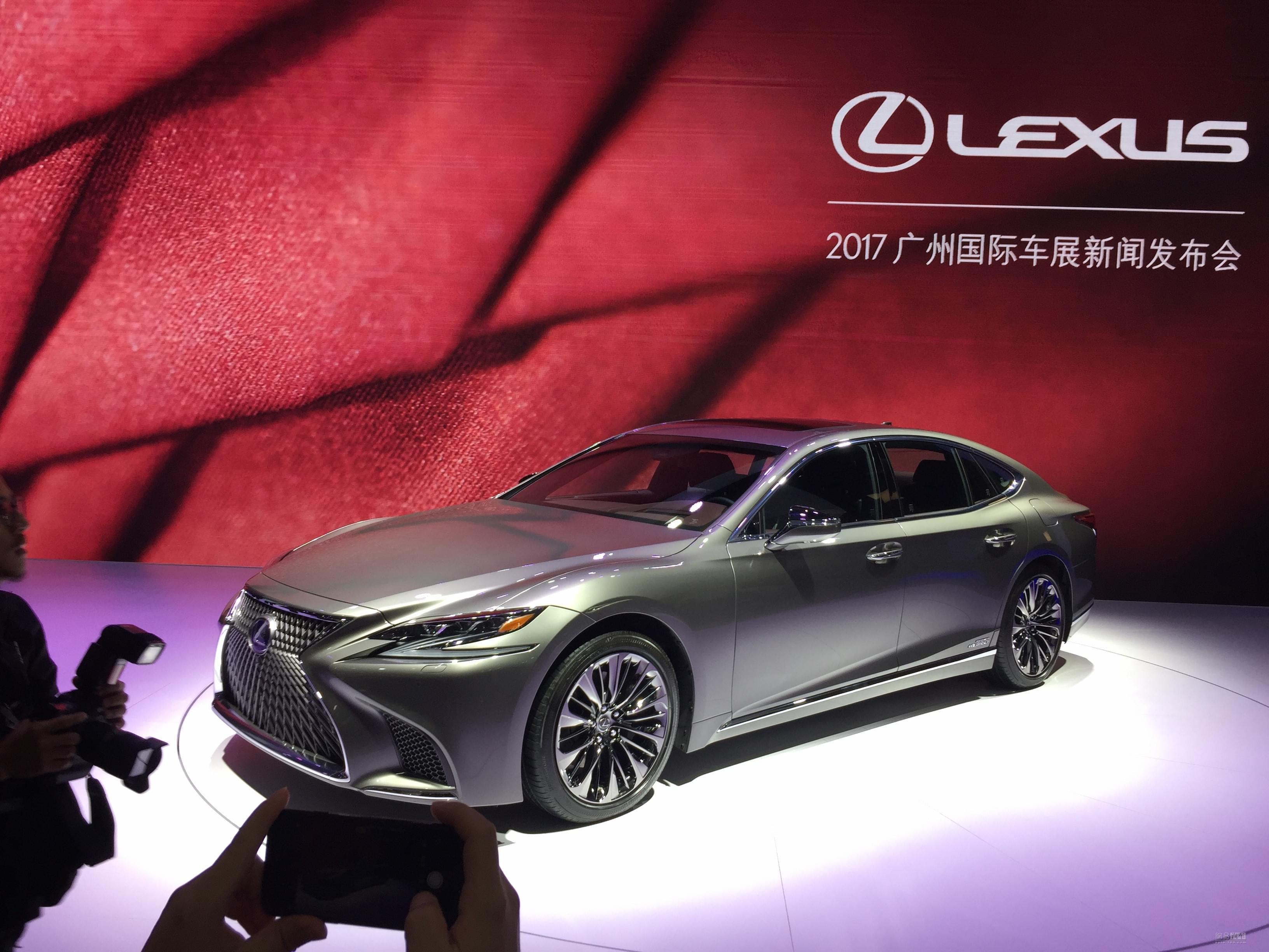 将推出6款车型 雷克萨斯全新LS正式亮相