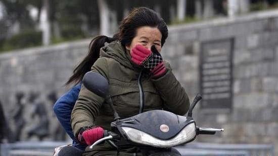 千里迢迢只为冻你 浙南一日之间从20℃到5℃