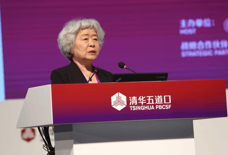 吴晓灵:中国杠杆率可控 去杠杆不是把杠杆率降到0