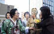 旧金山慰安妇雕像揭幕