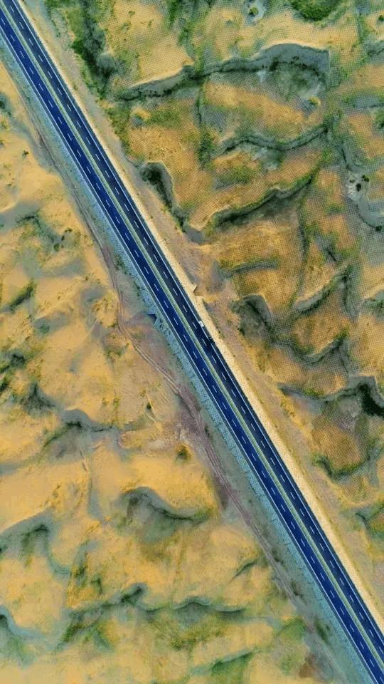 """秒杀""""66号公路""""的京新高速全线通车"""